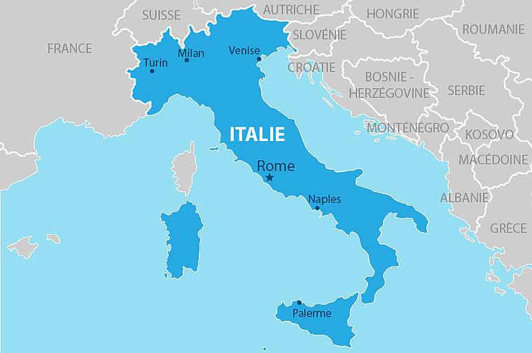 Comment immatriculer et importer une voiture italienne en France ?
